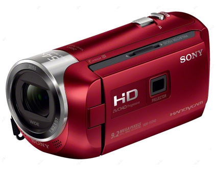 Видеокамера Sony HDR-PJ240E Red