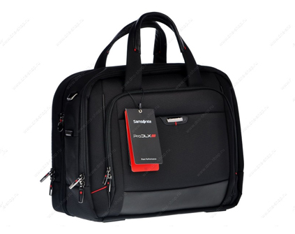 "16"" Сумка Samsonite 35V*003 LAPT.BAILHANDLE L 16"" EXP, черный"